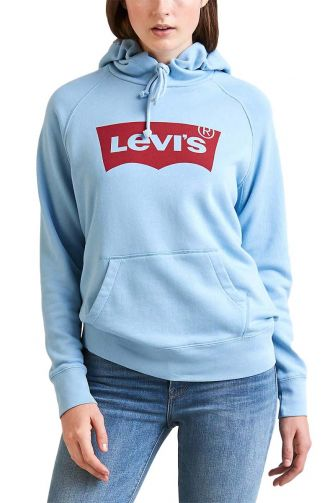 LEVI'S® graphic sport hoodie solace blue