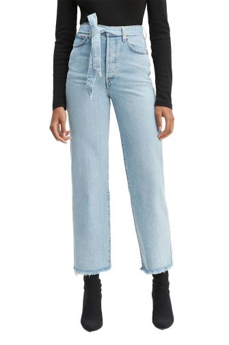 LEVI'S® Ribcage straight ankle jeans get it done