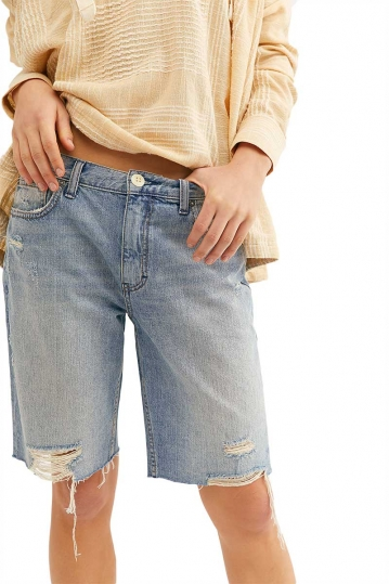 Free People Caroline cutoff denim shorts