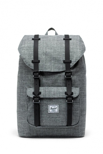 Herschel Supply Co. Little America mid volume backpack raven crosshatch/black