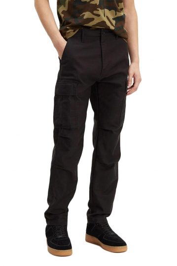 Levi's® cargo Hi-Ball black back satin