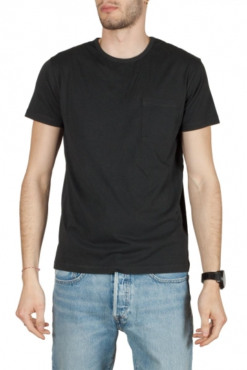 Thinking Mu organic cotton pocket t-shirt black