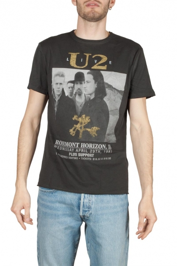 Amplified U2 Live t-shirt charcoal