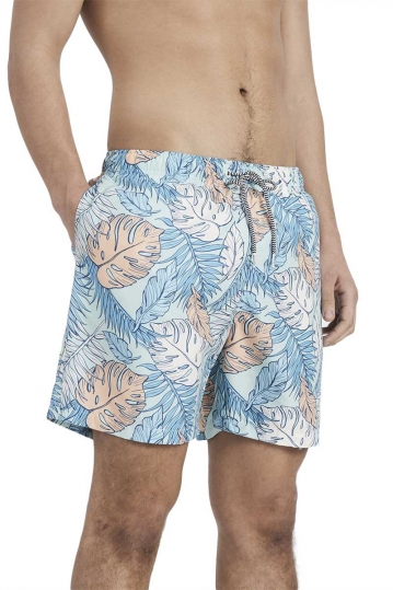 Boardies men's swim shorts Palmtopia green