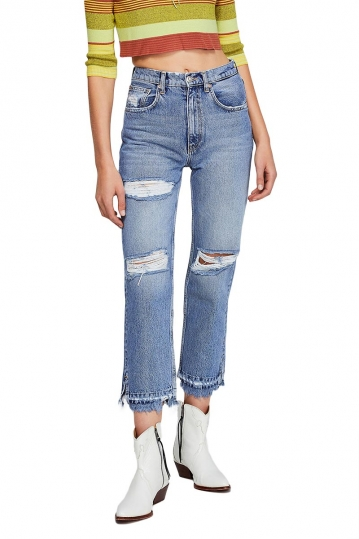 Free People Lita slim-leg jeans