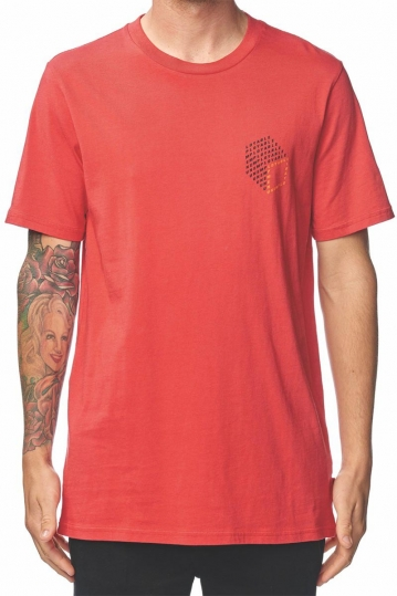 Globe Unemployable Cube t-shirt red