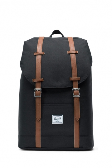 Herschel Supply Co. Retreat mid volume backpack black/tan