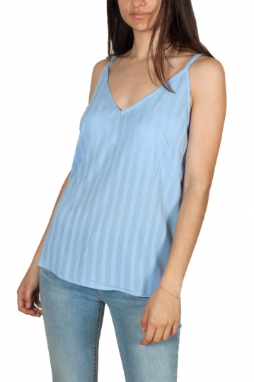 Rut & Circle cross back cami light blue