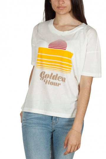 Thinking Mu organic cotton t-shirt Golden hour