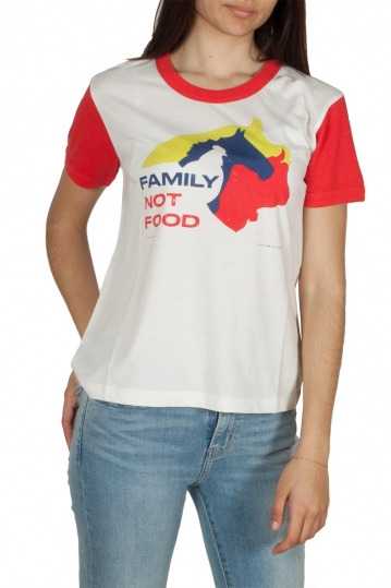 Thinking Mu Family not food retro t-shirt
