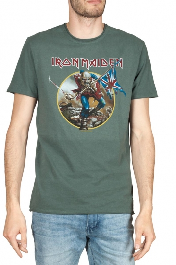 Amplified Iron Maiden Trooper t-shirt green