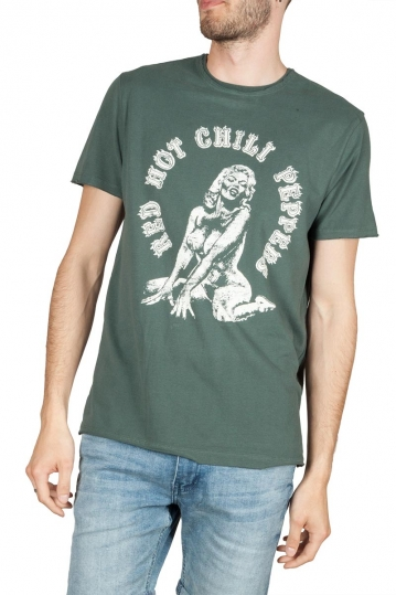 Amplified Red Hot Chili Peppers Jane t-shirt green