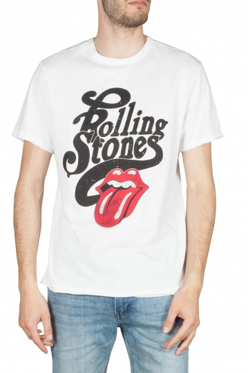 Amplified The Rolling Stones Licked t-shirt λευκό