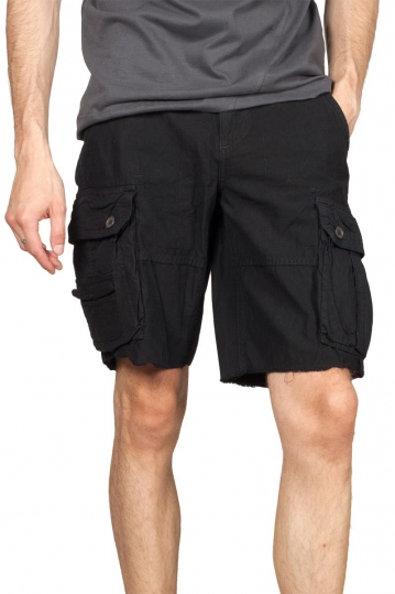 Men's cargo shorts dark navy