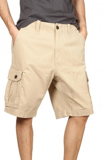 Men's cargo shorts ecru