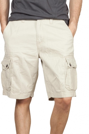 Men's cargo shorts ice color