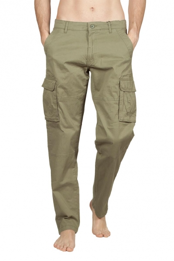 Gnious Panori cargo pants green