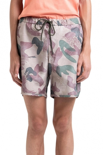Herschel Supply Co. Voyage Alta short brushstroke camo