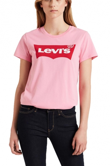 Levi's® perfect Logo t-shirt sachet pink