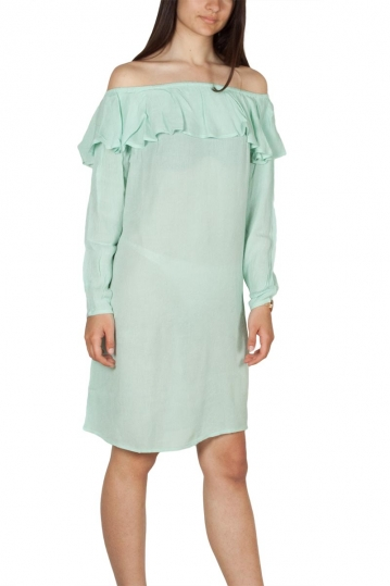 Rut and Circle Singoalla crepe dress green mist