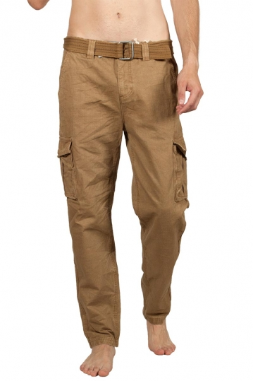 Eight2Nine ripstop cargo pants middle brown