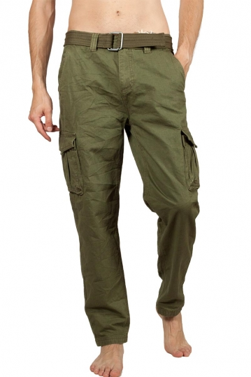 Eight2Nine ripstop cargo pants dark green