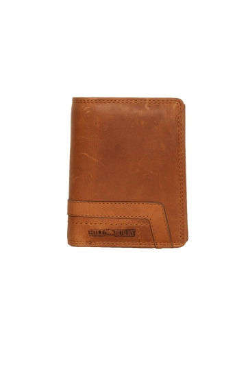 Hill Burry men's leather vertical wallet - RFID