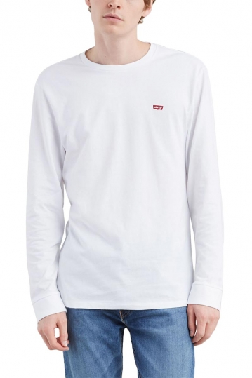 Levi's® Long sleeve original Logo tee white
