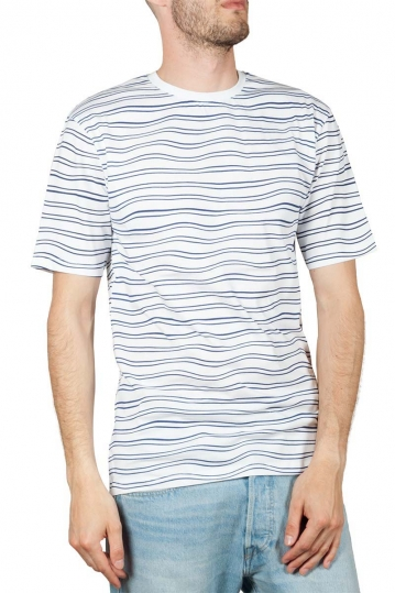 Minimum Wilson striped t-shirt white-blue