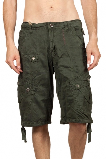 Soul Star cargo shorts khaki green