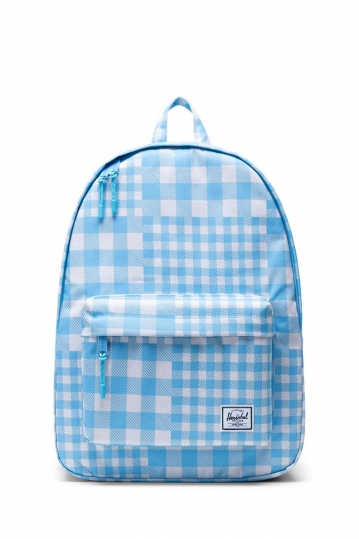 Herschel Supply Co. Classic backpack gingham alaskan blue