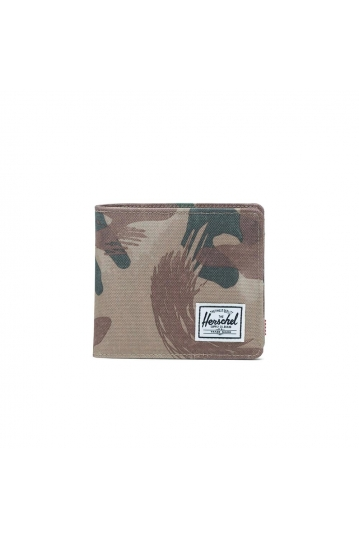 Herschel Supply Co. Hans XL coin wallet RFID brushstroke camo