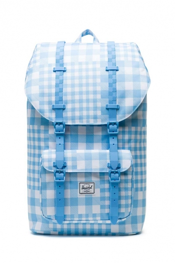 Herschel Supply Co. Little America backpack gingham alaskan blue