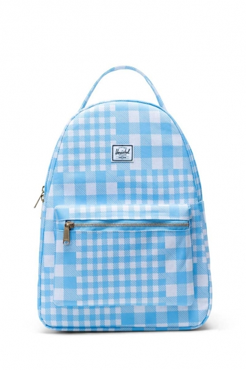 Herschel Supply Co. Nova mid volume backpack gingham alaskan blue