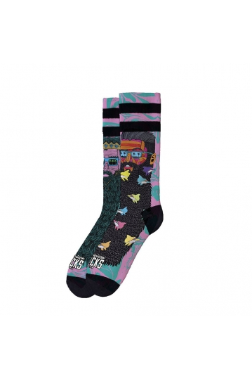 American Socks Bondi Beach - mid high socks