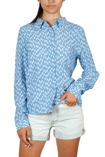 Artlove long sleeve shirt light blue