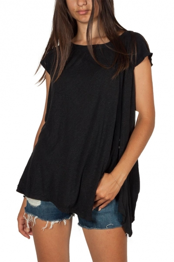 Free People keep it casual oversized tee