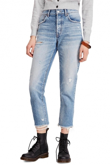 Free People Good Times relaxed skinny jeans