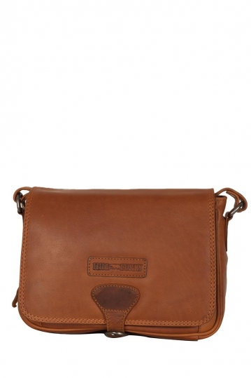 Hill Burry women's cross body leather bag brown
