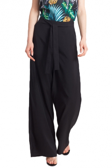 Migle + me wide leg trousers black