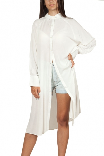 Migle + me long sleeve shirt tunic white