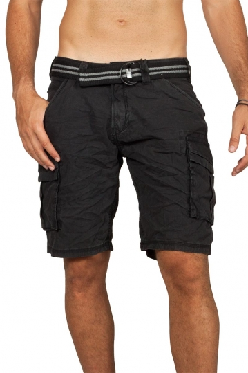 Stitch & Soul cargo shorts black