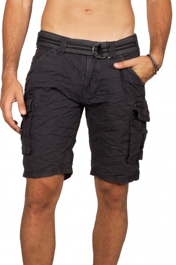 Stitch & Soul cargo shorts dark blue grey