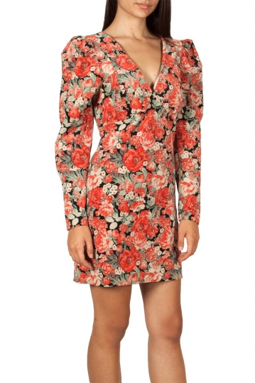 Free People Kapowski mini dress floral