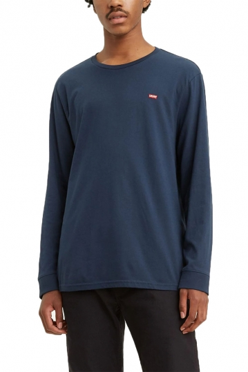 Levi's® Long sleeve original Logo tee blue