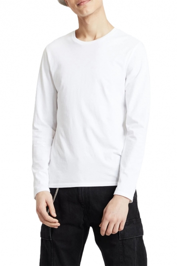 Levi's® Long sleeve slim fit crew neck tee white