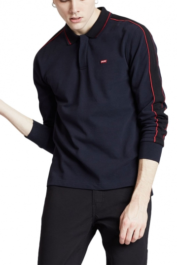 Levi's® pieced polo nightwatch