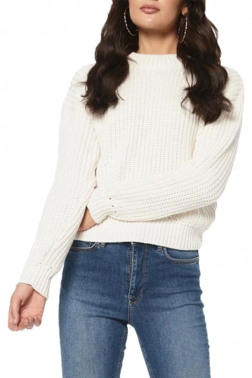 Rut & Circle Agnes knit sweater off white