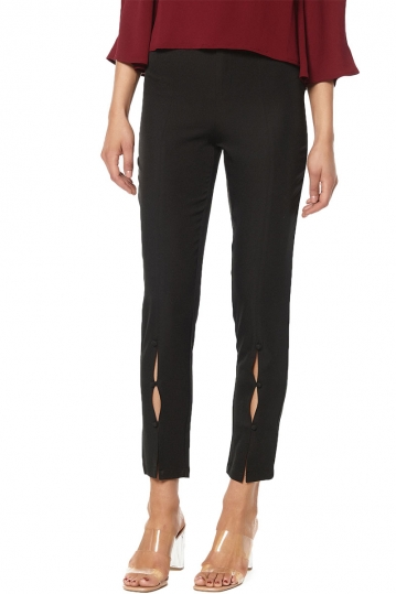 Rut & Circle Jessie button pants black