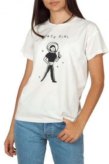 Thinking Mu organic cotton t-shirt Space girl